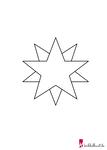 stern vorlage zum ausdrucken » pdf sternvorlagen   kribbelbunt