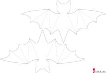 Fledermaus Basteln Mit Vorlage Basteln Mit 4