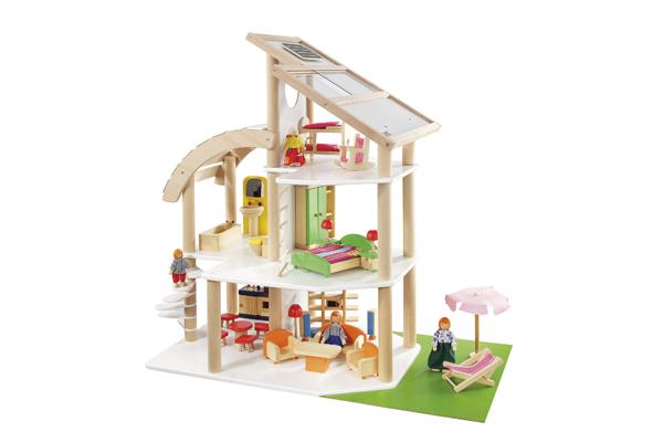puppenhaus aus holz von howa im wert von 99 95 zu gewinnen kribbelbunt. Black Bedroom Furniture Sets. Home Design Ideas