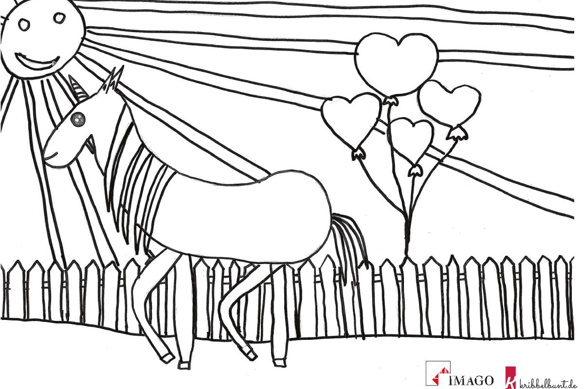 malvorlage pferd malen kinder  tier malen
