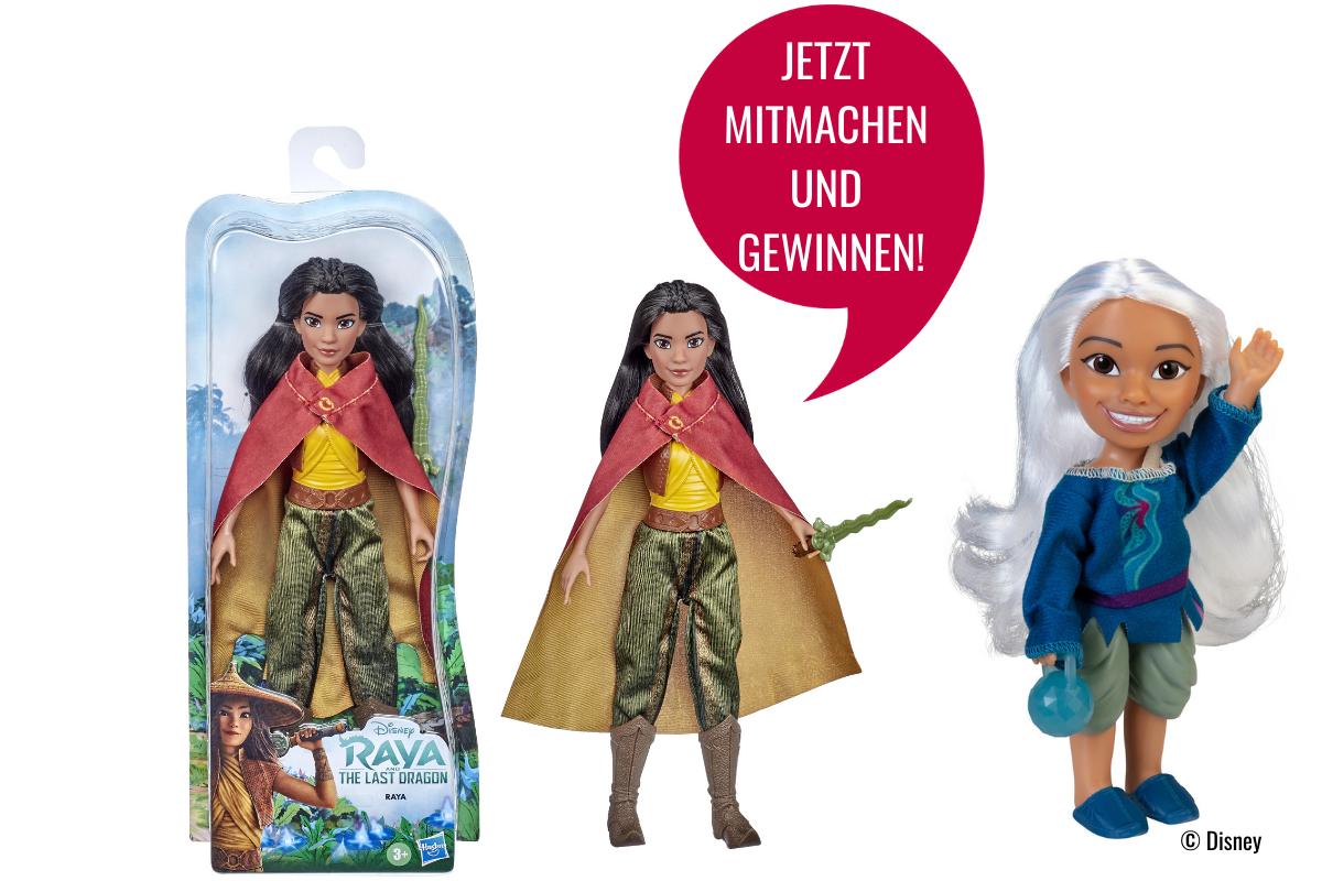"""Gewinner der """"Raya und der letzte Drache"""" Preise!  Kribbelbunt"""