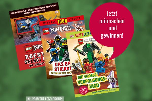 Großes Lego Ninjago Geschenkeset Zu Gewinnen Kribbelbunt