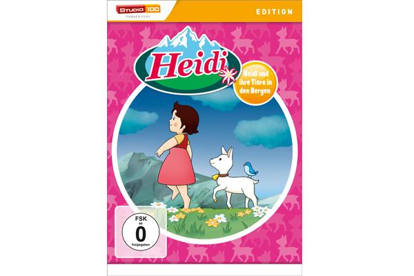 Gewinnt Eine Von Drei Dvds Heidi Und Ihre Tiere In Den Bergen