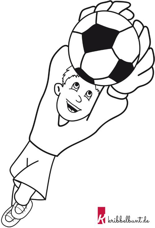 Ausmalbilder Fußball Kostenlos Als Pdf Kribbelbunt