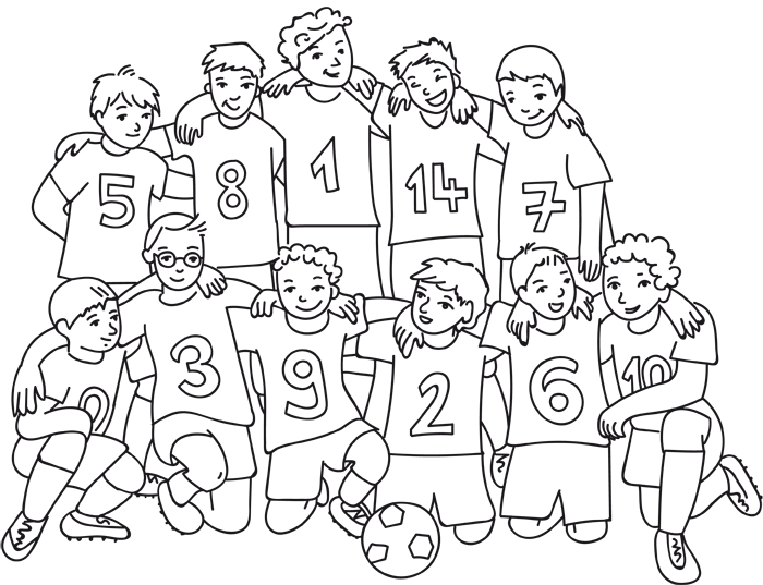 Ausmalbilder Fussball Kostenlos Als Pdf Kribbelbunt