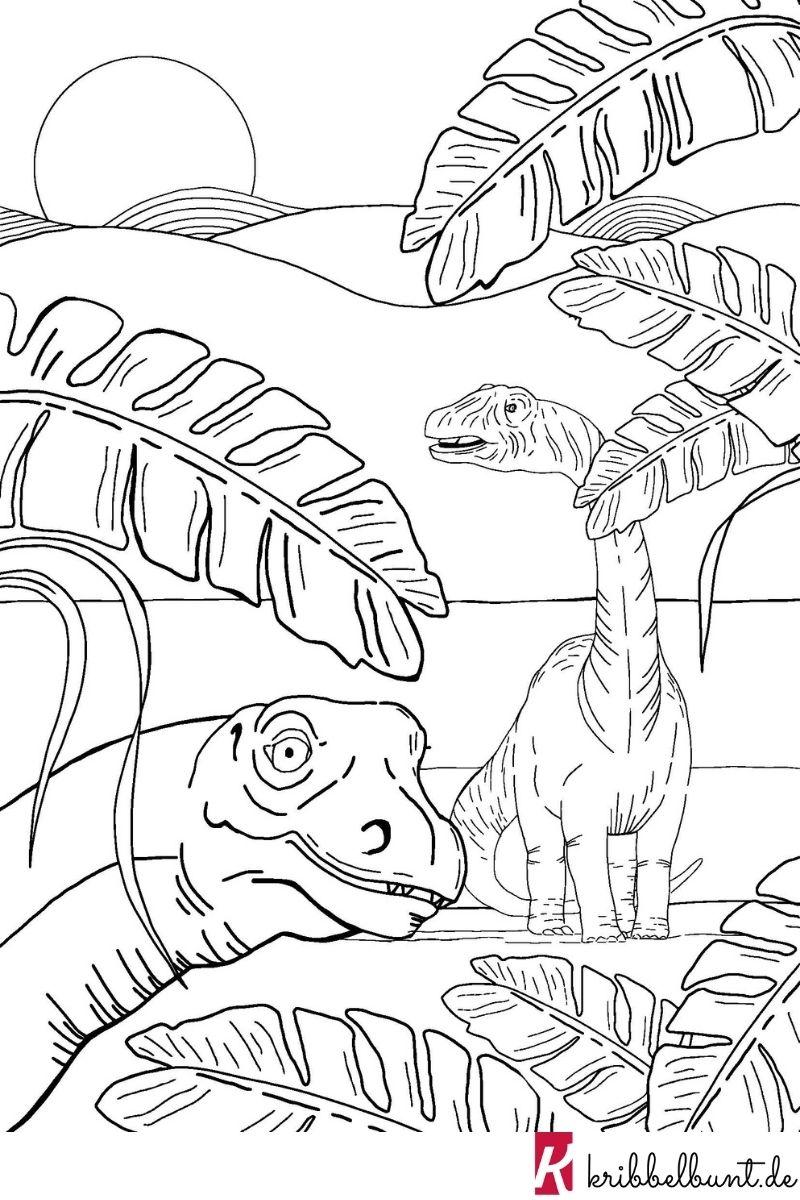 malvorlage dinosaurier  malvorlage dinosaurier dino