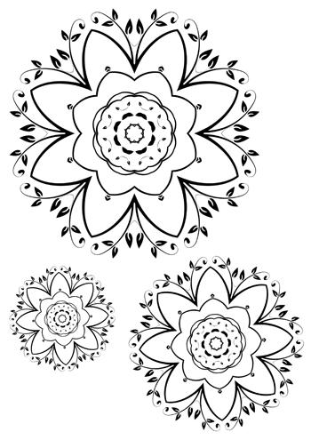 Erfreut Blumen Blütenblatt Vorlagen Zum Ausdrucken Zeitgenössisch ...