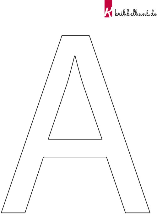 abc buchstaben zum ausdrucken » buchstaben vorlagen