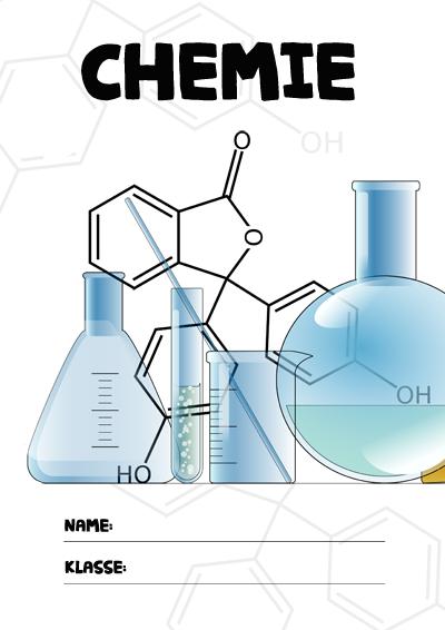 Chemie Deckblatt » PDF zum Ausdrucken   Kribbelbunt