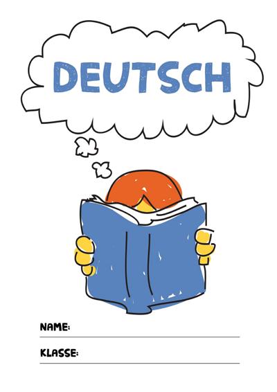 Deutsch Deckblatt Pdf Zum Ausdrucken Kribbelbunt