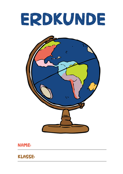Erdkunde Deckblatt Pdf Zum Ausdrucken Kribbelbunt