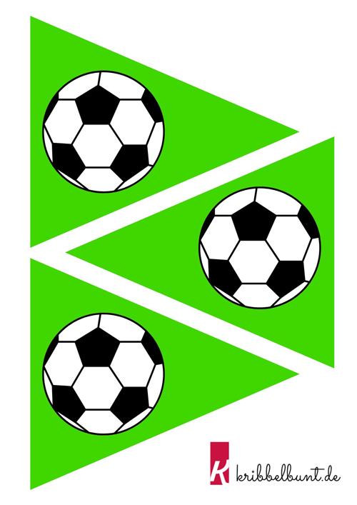 Fussball Vorlage Fussball Muster Zum Ausdrucken Kribbelbunt 1