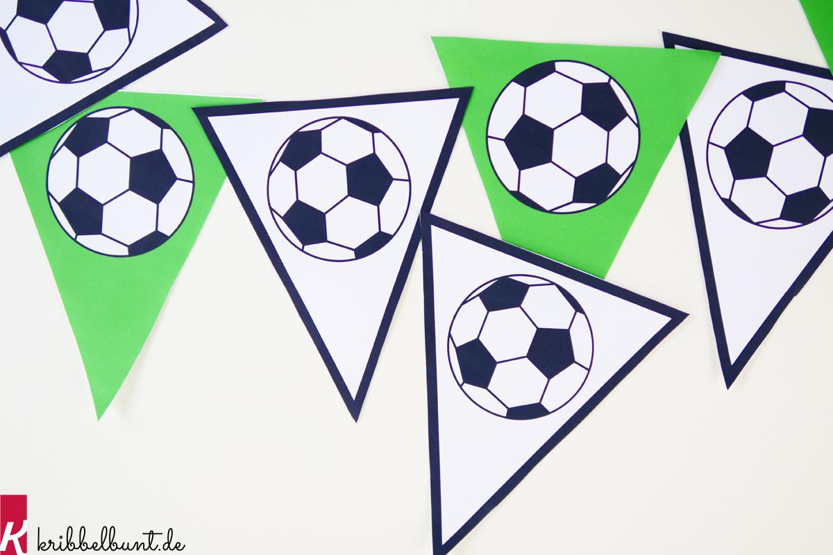 Fussball Vorlage Fussball Muster Zum Ausdrucken Kribbelbunt