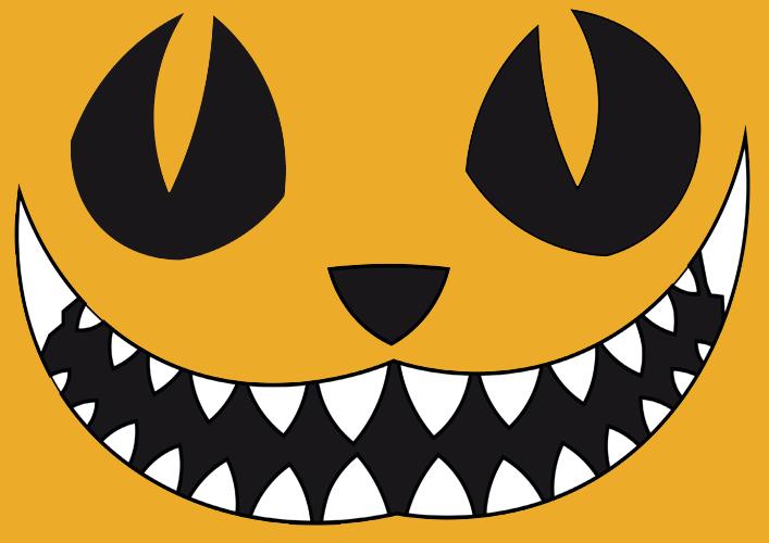 Halloween Kurbis Schnitzen Vorlage Schablone Zum Ausdrucken
