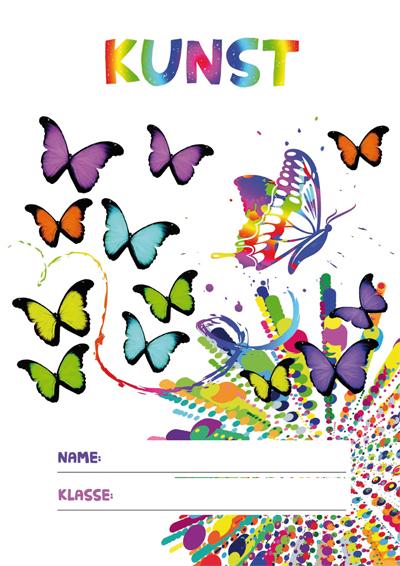 Kunst Deckblatt Pdf Zum Ausdrucken Kribbelbunt
