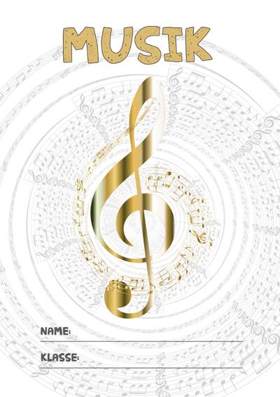 Musik Deckblatt Pdf Zum Ausdrucken Kribbelbunt