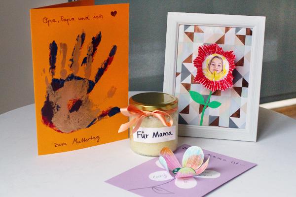 Muttertagsgeschenke basteln kribbelbunt - Muttertagsgeschenke selber basteln ...