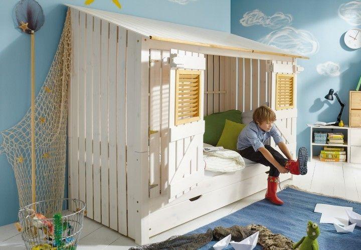 Kinderbett häuschen  Abenteuerbetten - Kribbelbunt