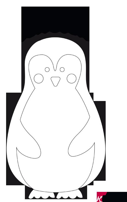 pinguin vorlage