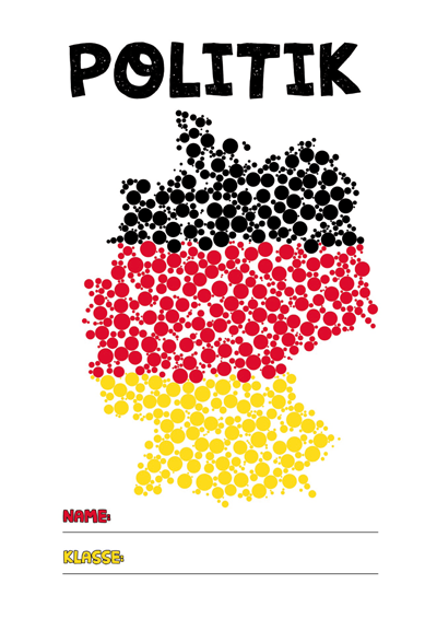 Politik Deckblatt Pdf Zum Ausdrucken Kribbelbunt