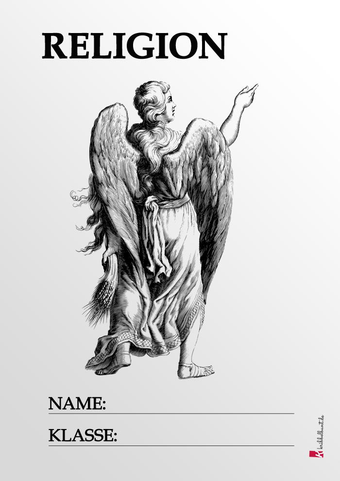 Religion Deckblatt Pdf Zum Ausdrucken Kribbelbunt