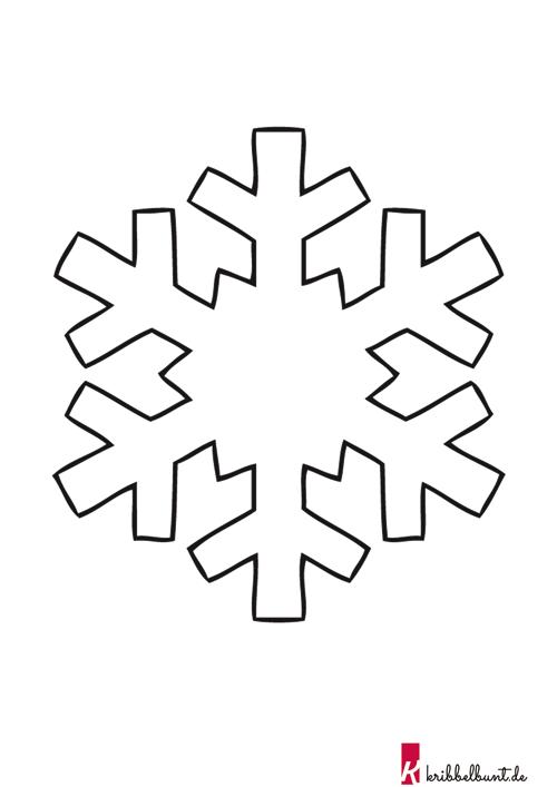 33 schneeflocke schablone zum ausdrucken  besten bilder