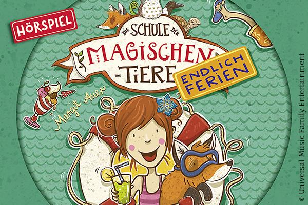 Drei Ferienkrimis Der Abenteuer Horspielserie Die Schule Der Magischen Tiere Gewinnen Kribbelbunt