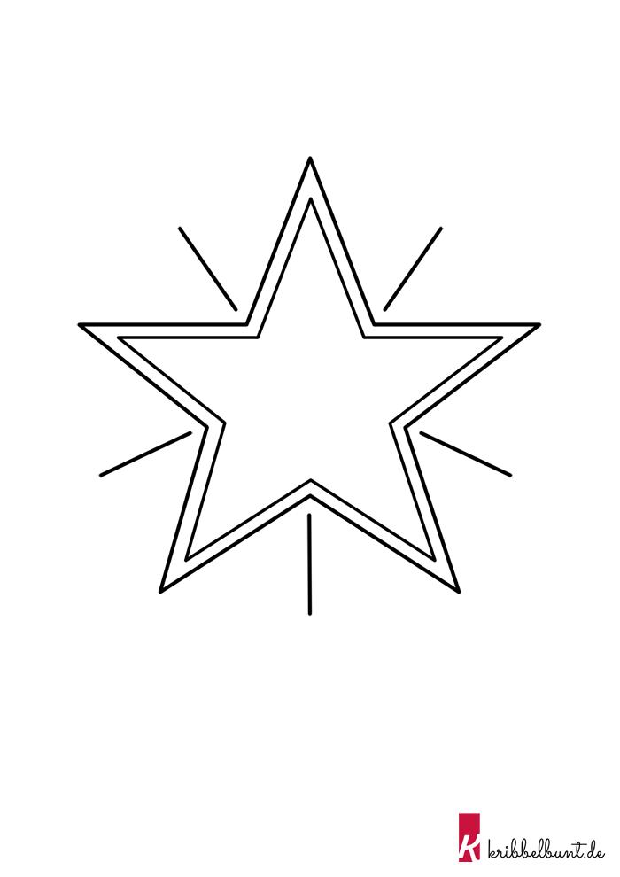 Schablone Stern Stern Vorlage Ausschneiden 2019 12 16