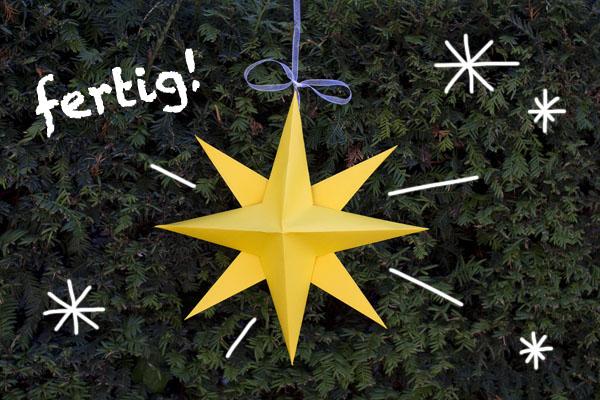 Sterne Basteln Mit Kindern Kribbelbunt