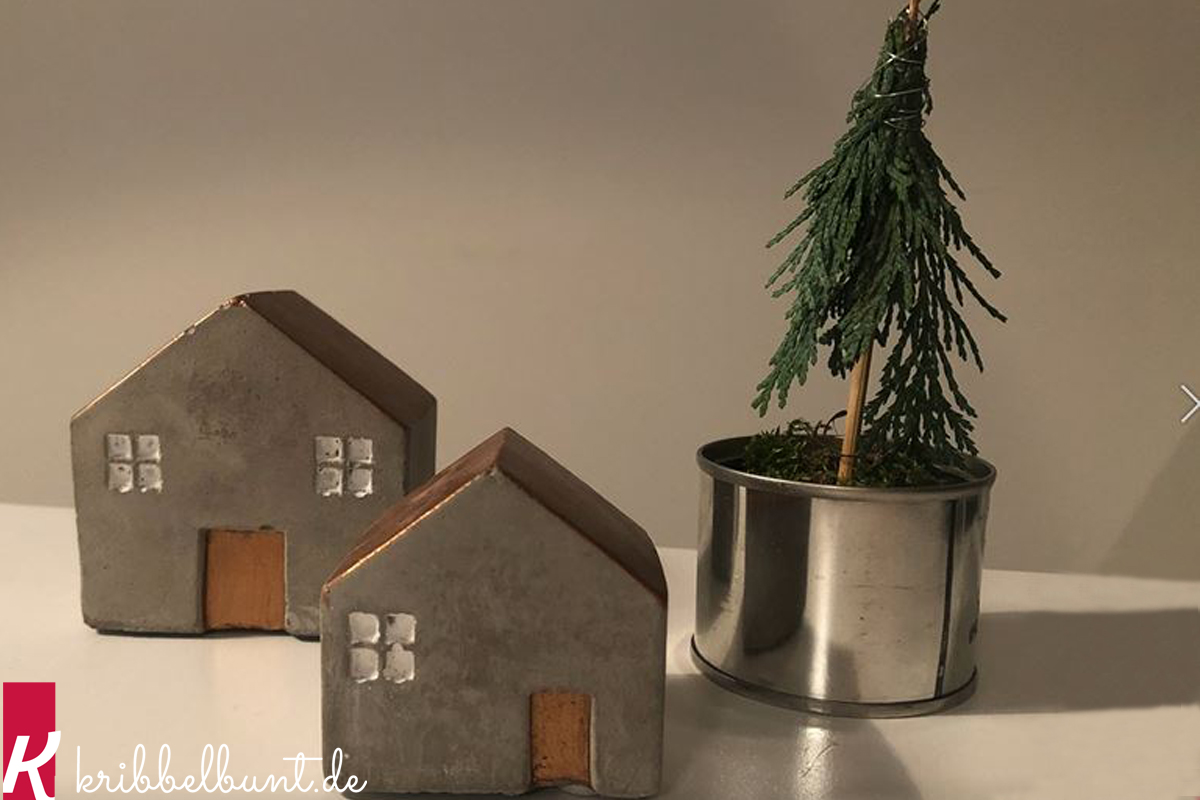 Mini Tannenbaum Basteln Kribbelbunt