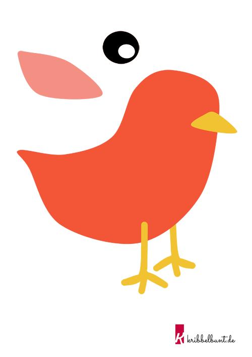 Druckvorlage Vogel Drucken Jpg 3 508 2 480 15