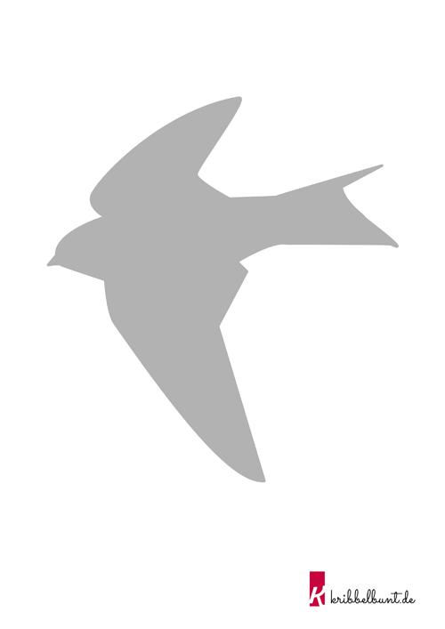 Vogelschablonen Kostenlos