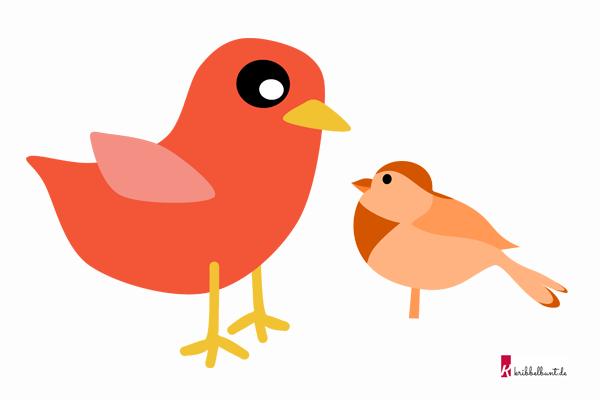 Vogel Vorlage Vogel Basteln Vorlage Kribbelbunt