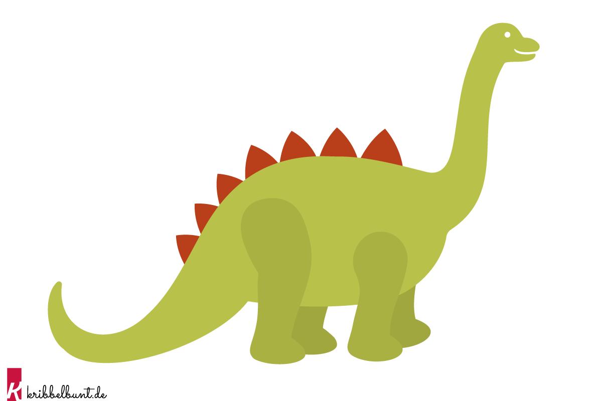Dino Vorlage » T-Rex Vorlage als PDF  Kribbelbunt