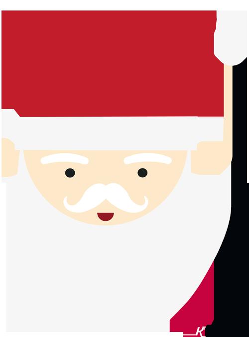 Weihnachtsmann Vorlage Zum Ausdrucken Pdf Kribbelbunt 4