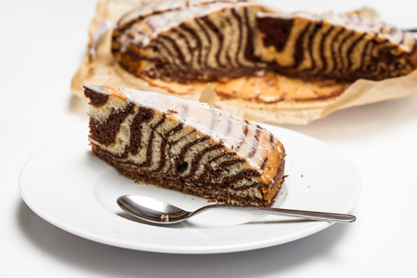 Zebrakuchen Zebrakuchen Rezept Kribbelbunt